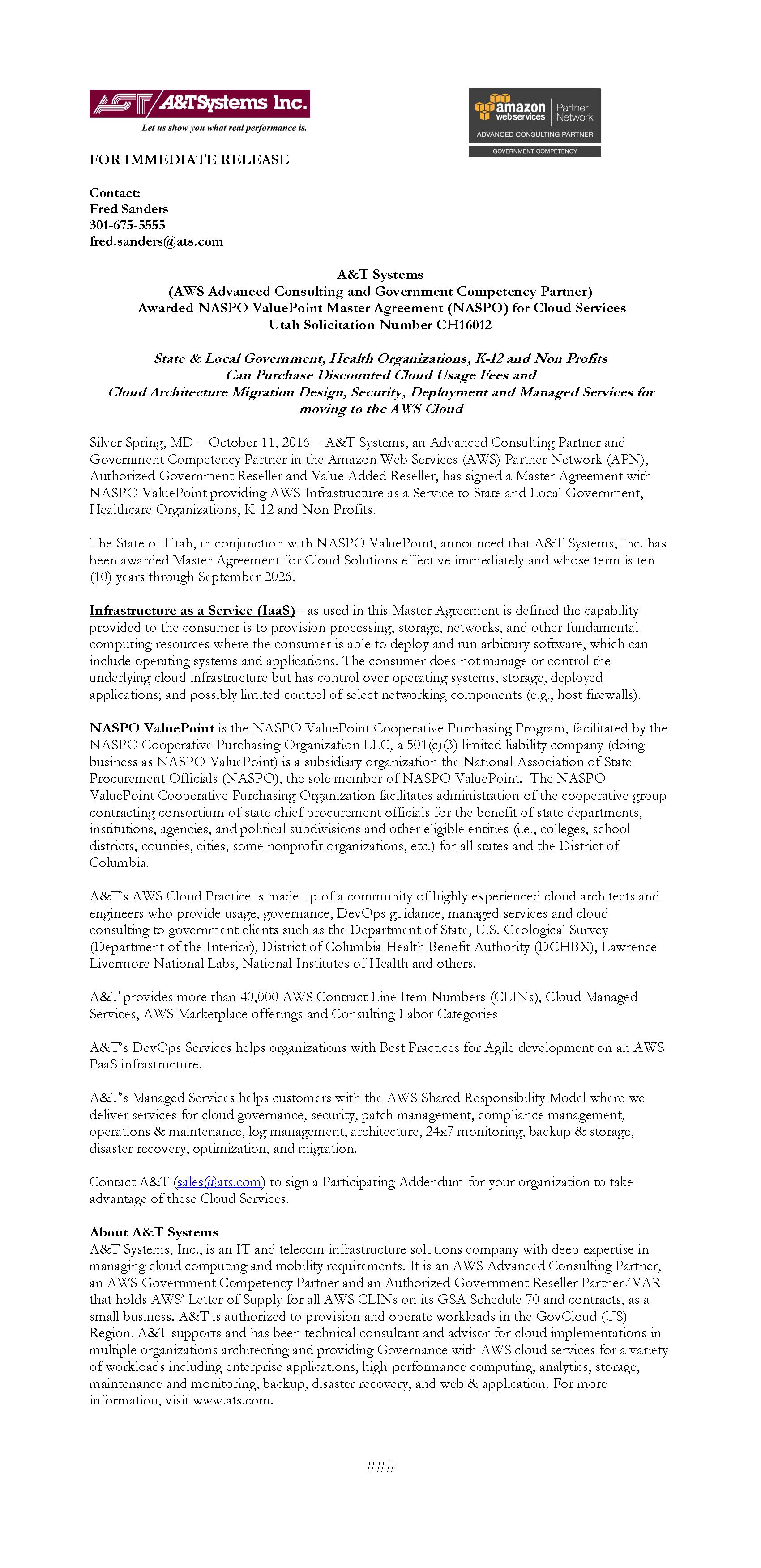 AT 2016 Press Release for Approval v1 NASPO 10-11-16
